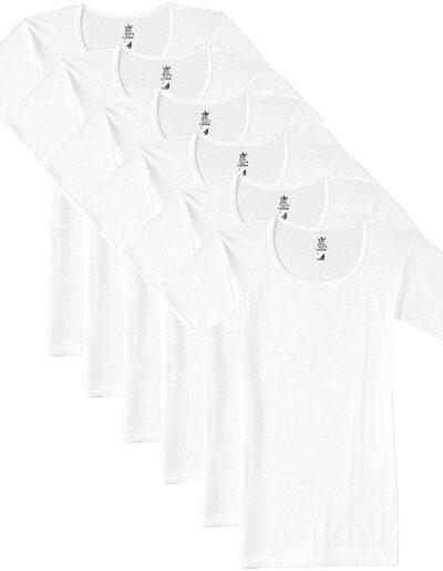 VIP Men's Cotton Half Sleeves Vest