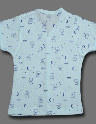 Cucumber Cotton Front Open Vest Tshirt