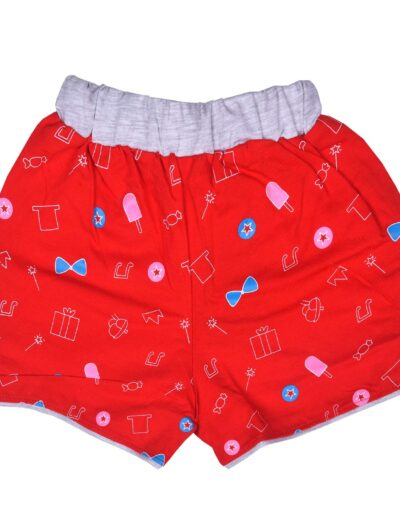 Chocoberry Printed Baby Girls Shorts