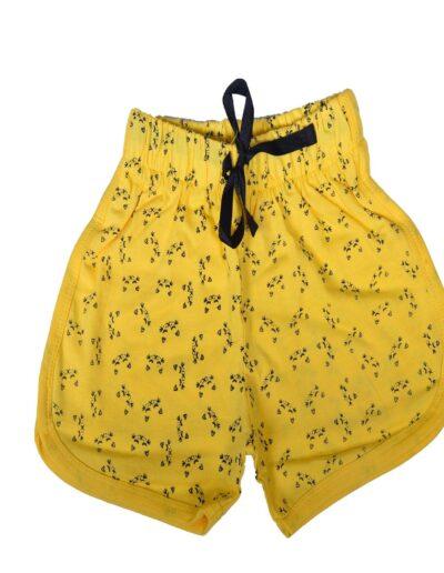 BENAVJI Printed Girls Cotton Shorts