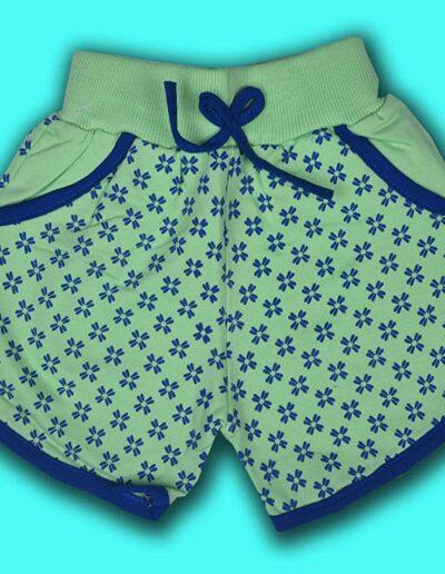BENAVJI Printed Baby Girls Shorts Pack