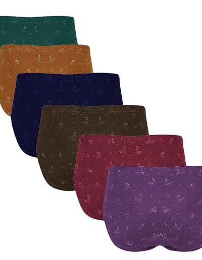 Dixcy Josh Women's Cotton Panties (Pack of 6)