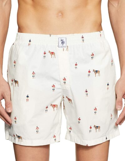 US Polo Association Men's Printed Boxers