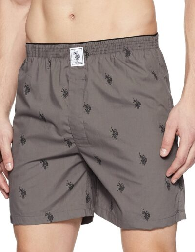 U.S. Polo Assn. Mens Cotton Boxers